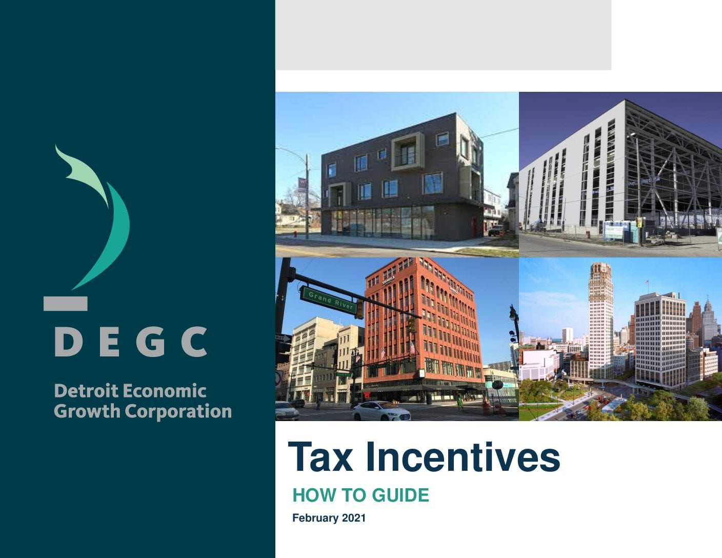 The cover of the DEGC Tax Incentives How-To Guide