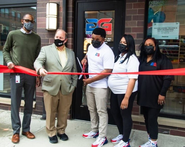 GrindGrind celebrates grand opening in Detroit's Rivertown District, receives $40,000 from Motor City Match