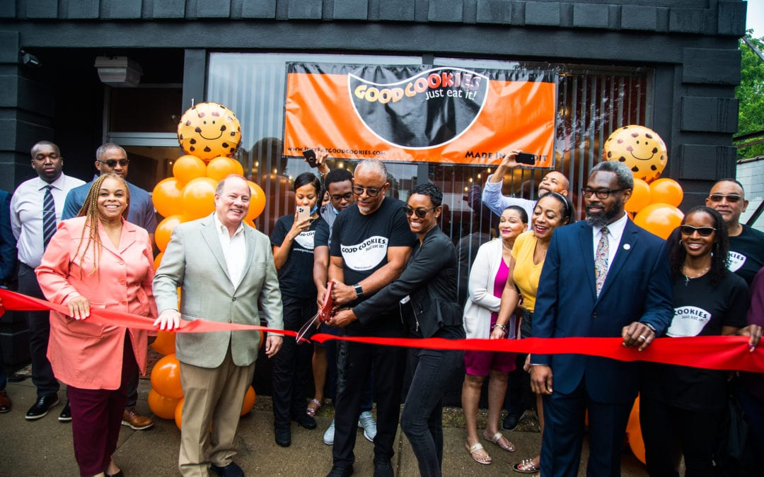 Motor City Match recipient Good Cookies celebrates grand opening in North Rosedale Park; plans to hire neighborhood residents and have community focus