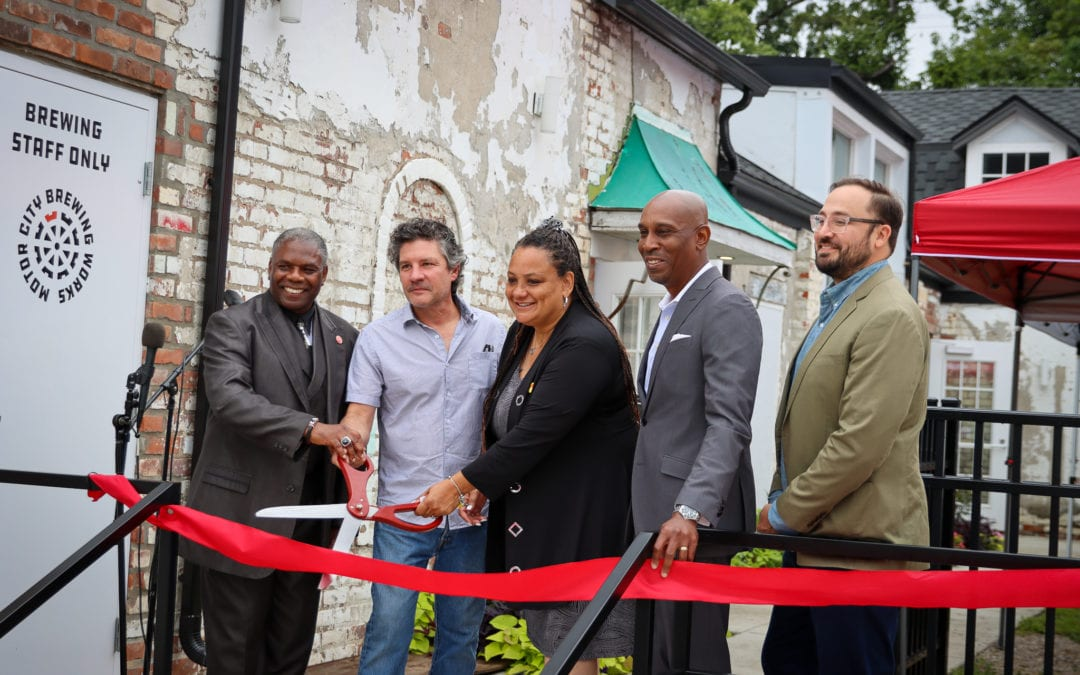 Motor City Match awardee Motor City Brewing Works opens second Detroit location on Livernois Avenue of Fashion