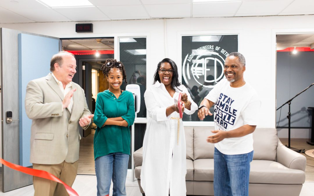 Audio Engineers of Detroit opens high-tech recording and educational studio in Midtown Detroit